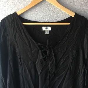 NWOT Old Navy loose black dress - size large